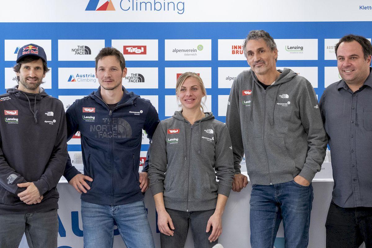 Kletterverband Österreich Scherer Reinhold Kilian Fischhuber Katharina Saurwein Heiko Wilhelm Michael Schöpf Nationaltrainer