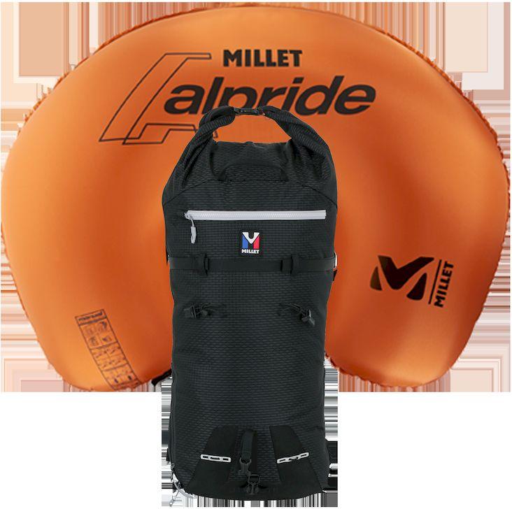 Milet Trilogy 30 E-1 - Der erste Alpinrucksack mit abnehmbarem Lawinenairbagsystem