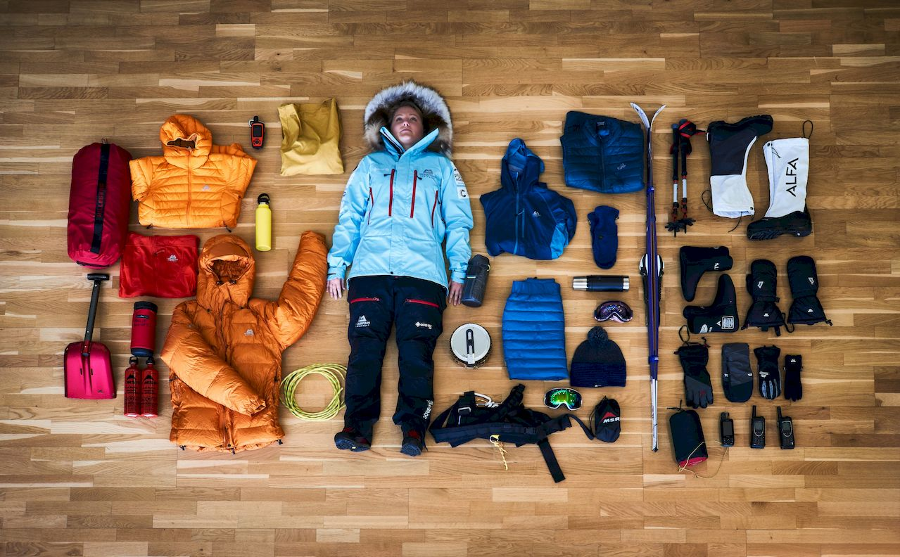 Mollie-Hughes Expedition-Stuff-Kletterszene