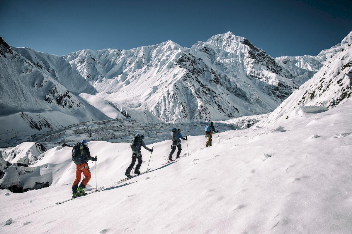 Skiefahren Karakorum Freeriden
