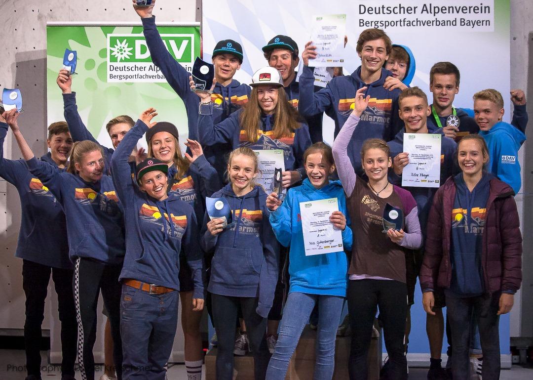 Wettkampf Team Bayern - Klettern - Kletterszene