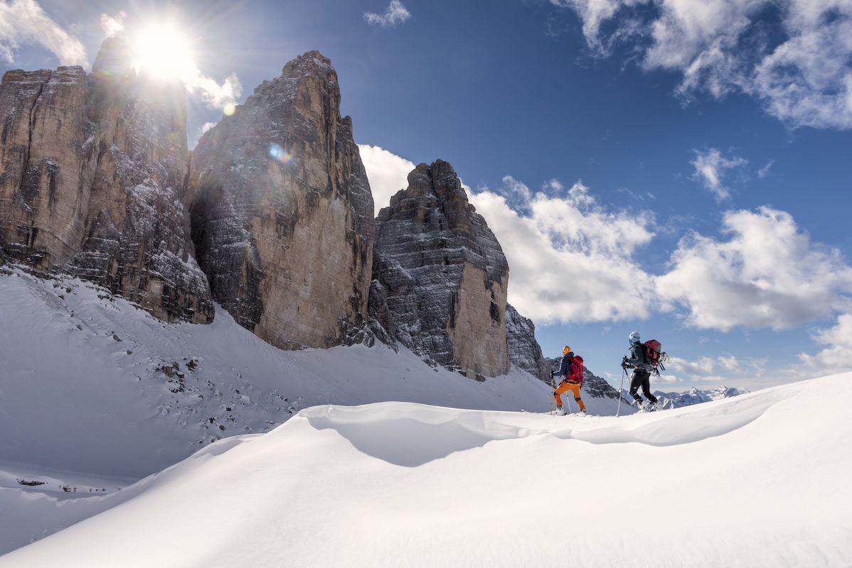 Drei Zinnen - Bergwelten - kletterszene