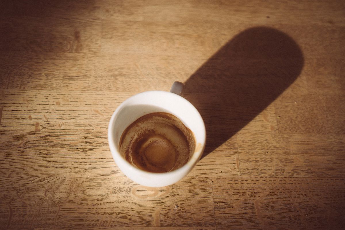 Cup of Coffee Hannes Huch - kletterszene
