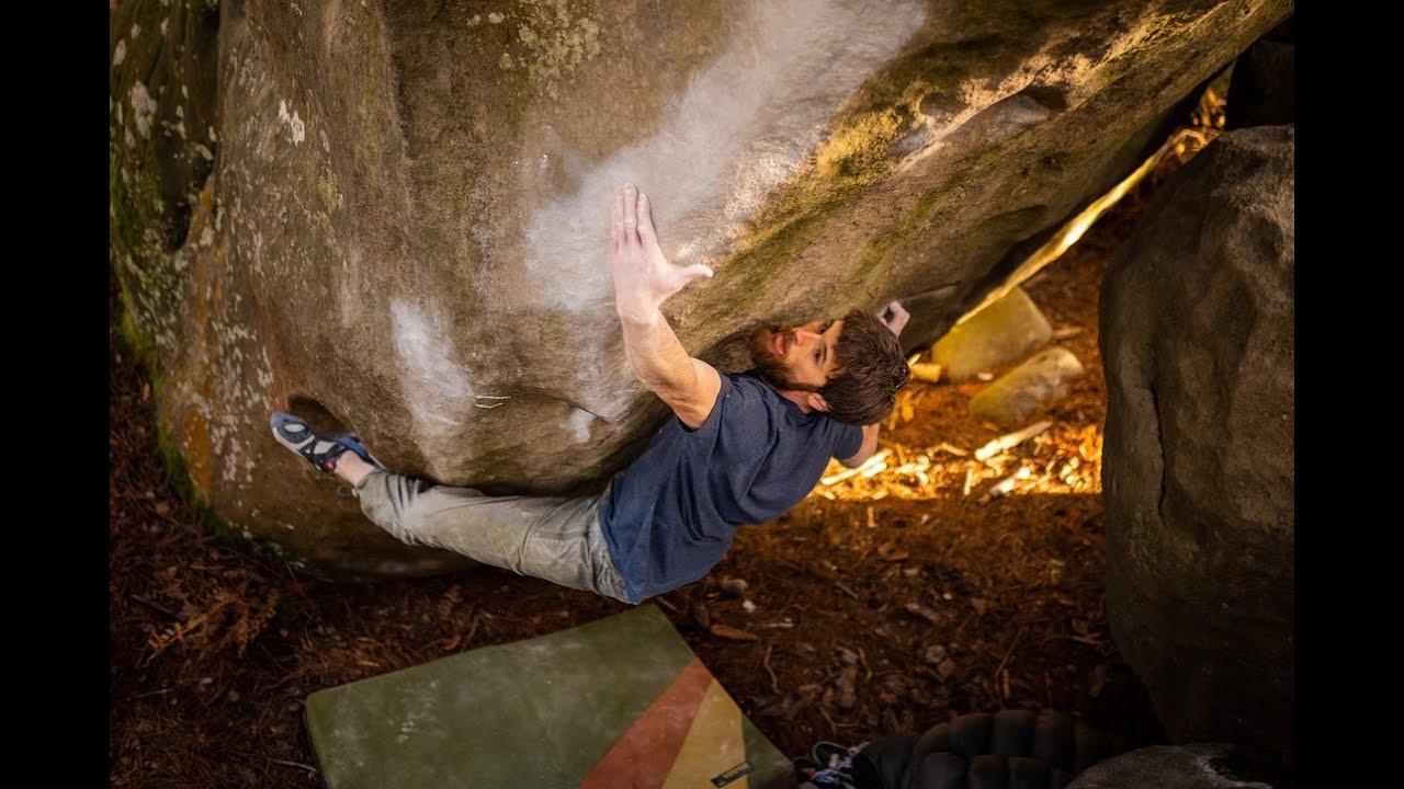 Jimmy Webb - Bouldern - Fontainbleau - Kletterszene