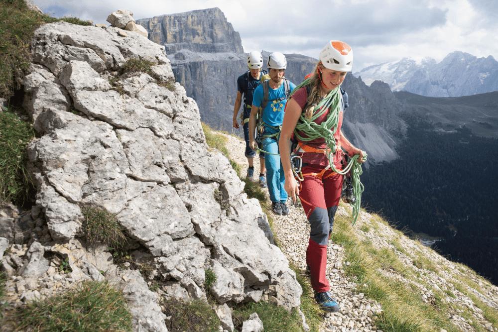 Bergführer - Ausbildung - Kletterszene