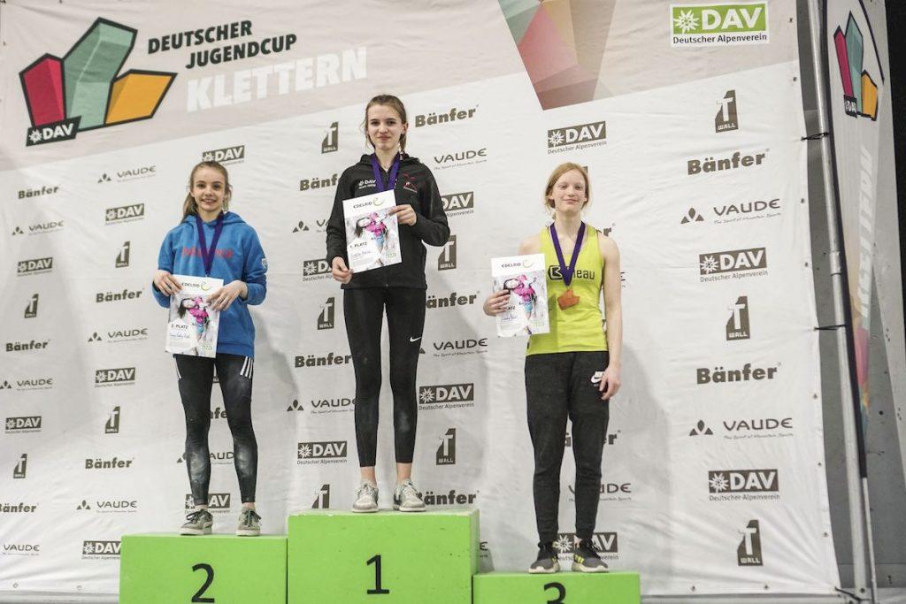1. Deutschen Jugendcup (Bouldern) 2020 in Nürnberg