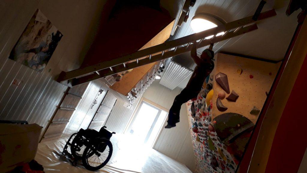 "INklettern"" in Klagenfurt: Paraclimbing"