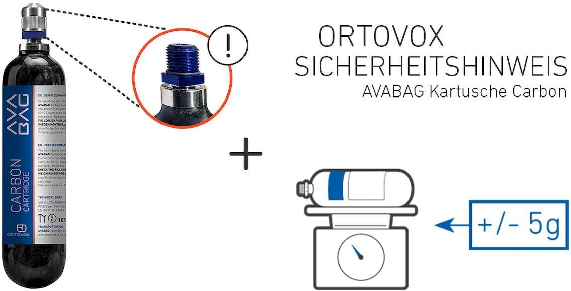 Ortovox Rückruf AvabagAirbag Kartusche