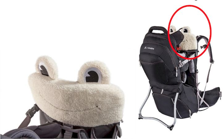 Freiwilliger Rückruf des Kissenaufsatzes Cushion Frog  [Vaude]