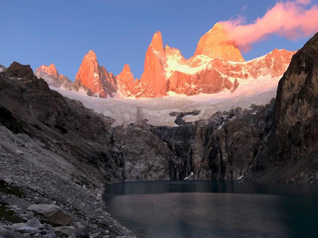 El Chalten - Granitgipfeln Fitz Roy und Cerro Torre