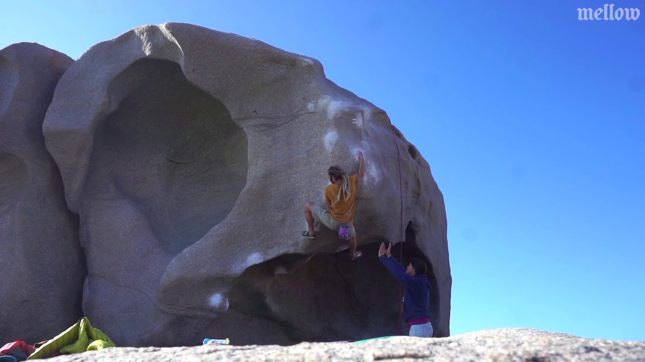 La Sfinge (8B)_Video_Kletterszene