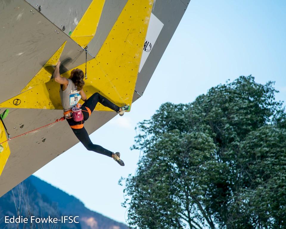 IFSC Weltcup Corona Kletterszene