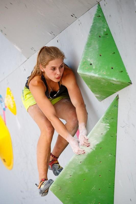 Hannah Meul - klettern -Corona - Training