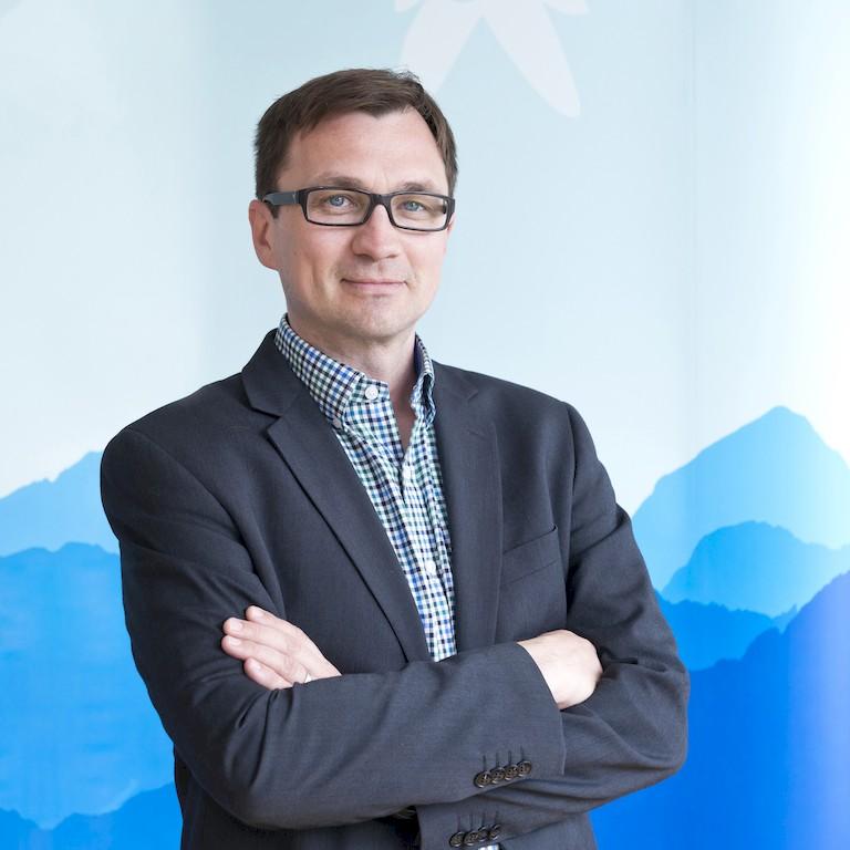 Gerald Dunkel-Schwarzenberger, Präsident des Verbandes alpiner Vereine Österreichs (VAVÖ
