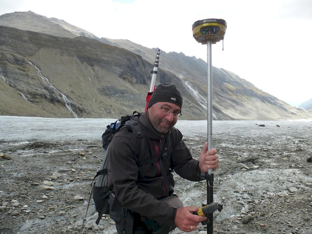 Andreas Kellerer-Pirklbauer vom Institut für Geographie und Raumforschung