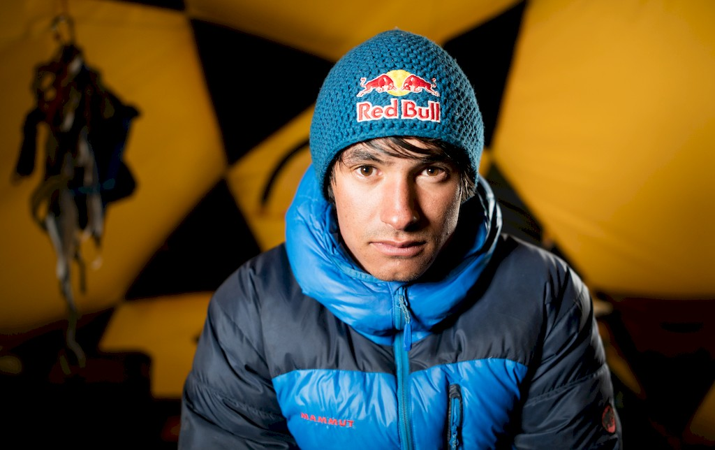 David Lama during his expedition to the South East ridge of Annapurna III
