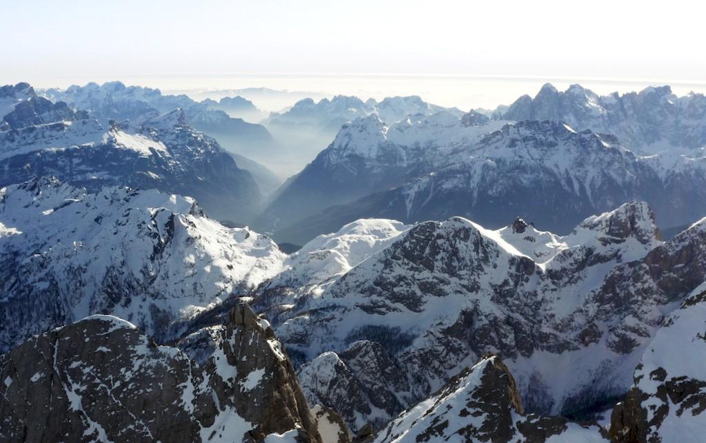 Panorama am Rifugio Nuvolau