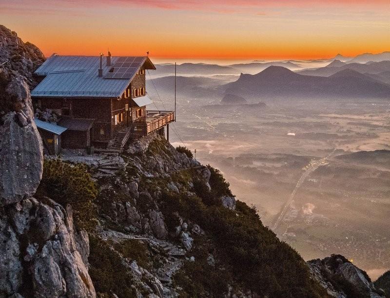 DAV Huettenoeffnung in Bayern