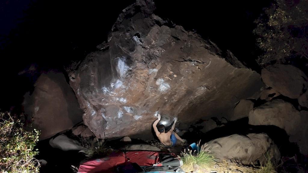 bouldern auf gran canaria max raeuber