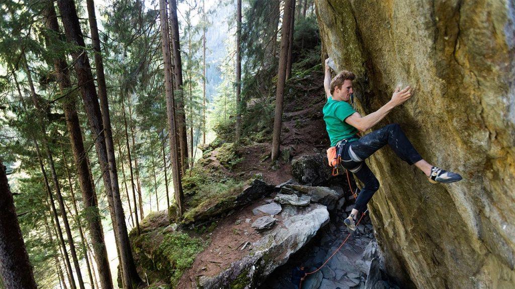 Jakob Schubert Klettern Zillertal