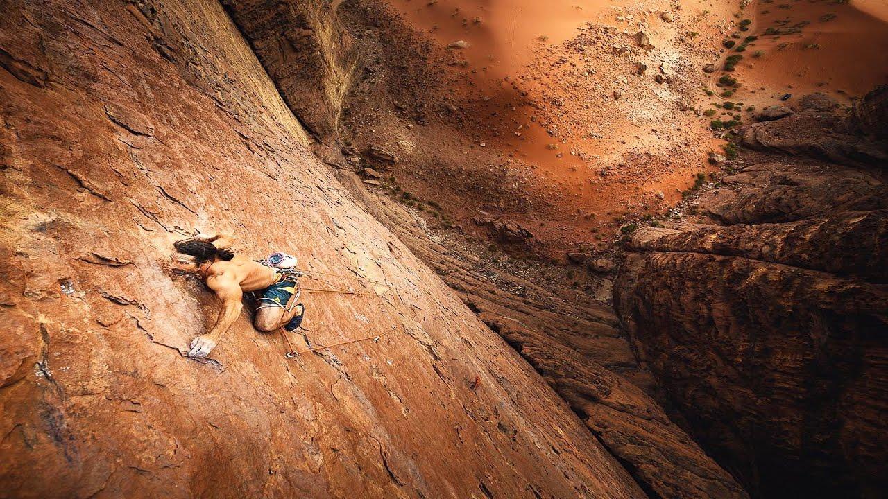 Alexander Huber Klettern Oman Video