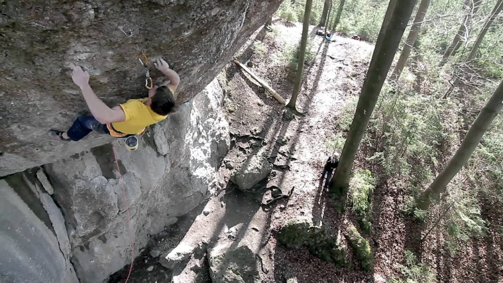 Jan Hojer Action Direct (9a) Kletterszene