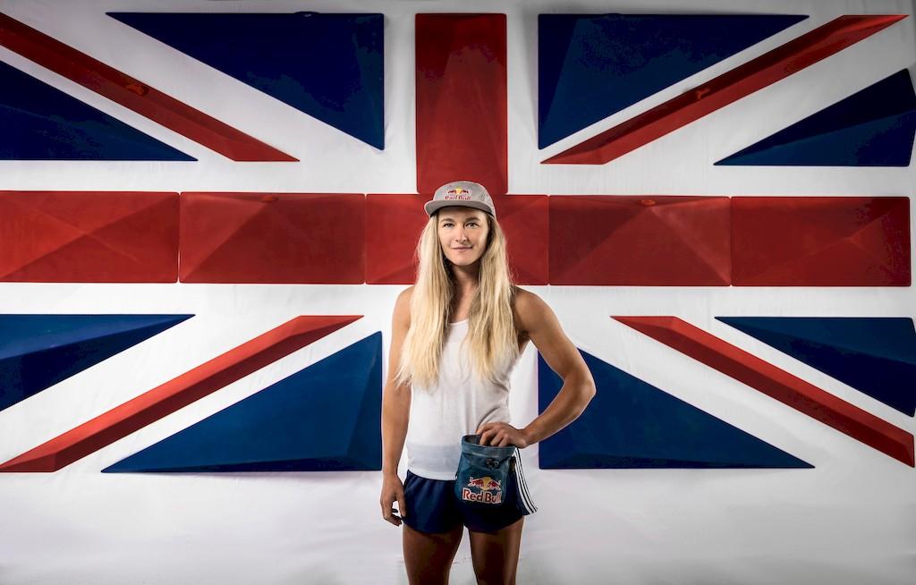 Shauna Coxsey britische Kletterin
