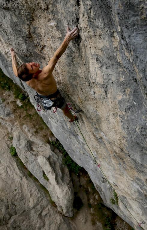 Roland Hemetzbverger klettern Qui 9a+