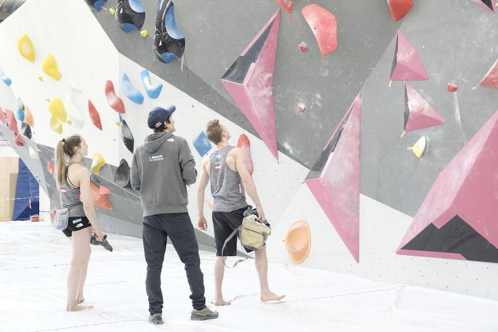 Jakob Schuber klettern