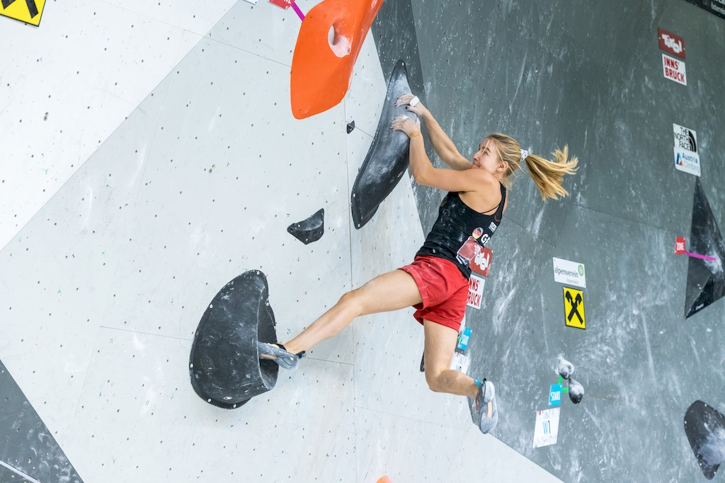 Mona Kellner _Austria Climbing Summer Series