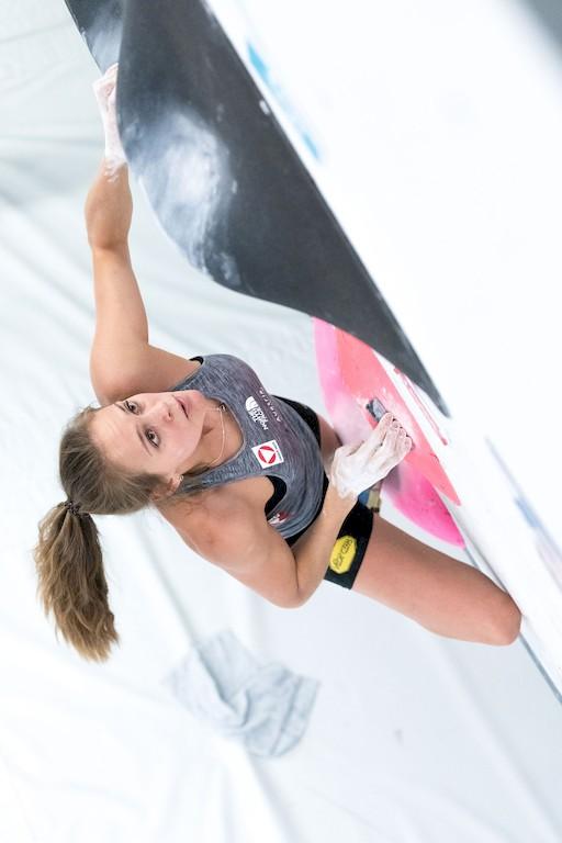 Eva Hammelmüller  klettern Interview