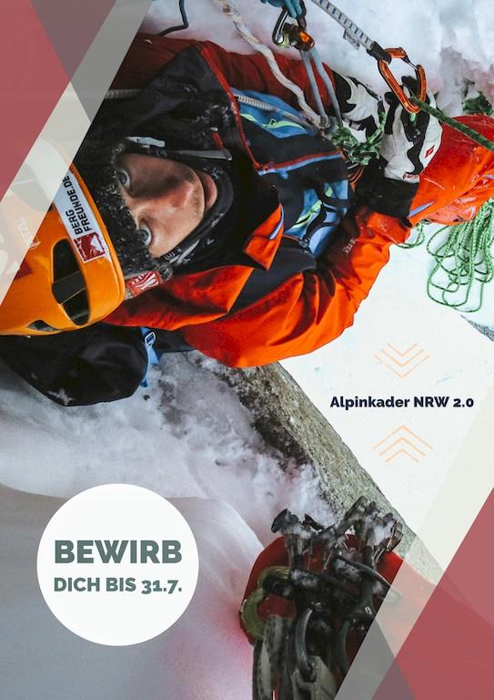 DAV Alpinkader NRW Bewerbung