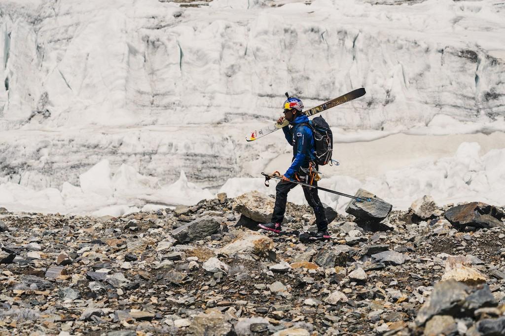 Andrzej Bargiel ski  K2 kletterszene