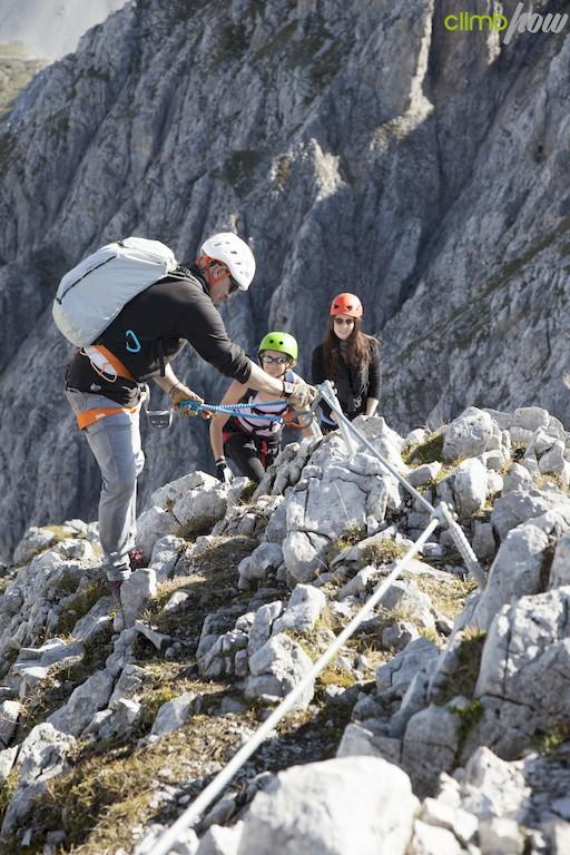 Klettersteigtestival light Innsbruck Nordkette
