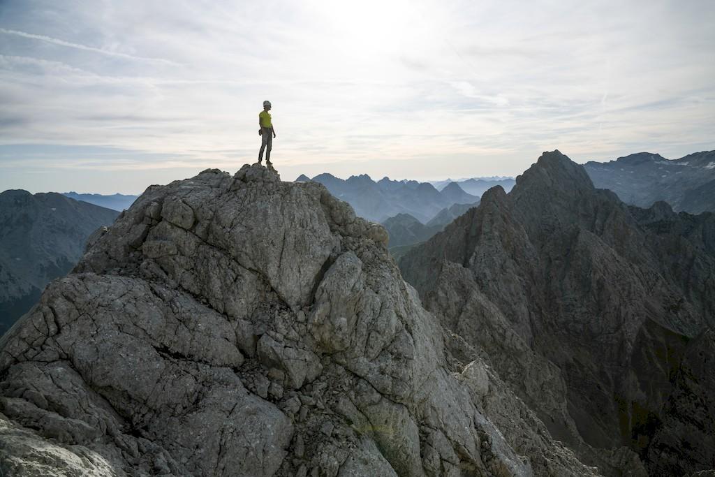 Wetterstein Bergwelten ServusTV Kletterszene