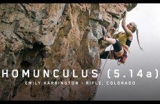 Emily Harrington video climbing