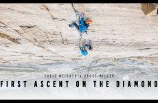 First Ascent Video Kletterszene
