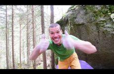 Manuel mast Bouldern Zillertal Kletterszene