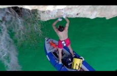 Chis Sharma Depp Water Soloing mont Rebei
