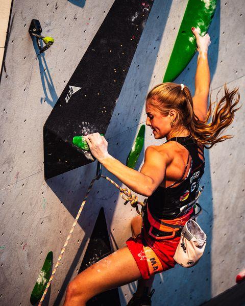 Hannah Meul EYC Augsburg Klettern