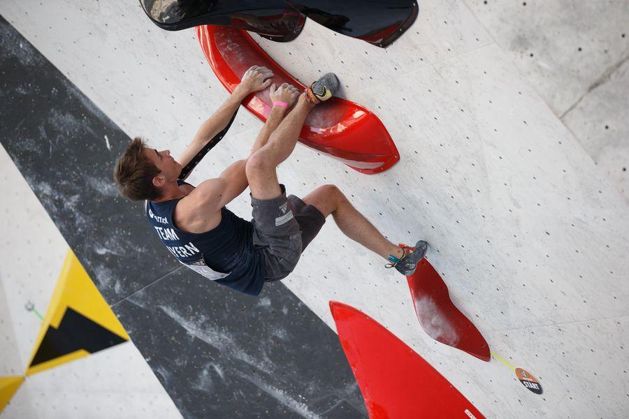 Philipp Martin Deutsche Meisterschaft Bouldern Augsburg