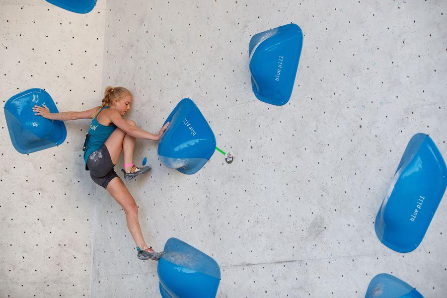 Lucia Dörffel Deutsche Meisterschaft Bouldern