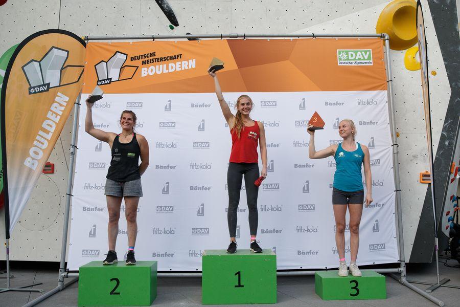 Podest Deutsche Meisterschaft Bouldern