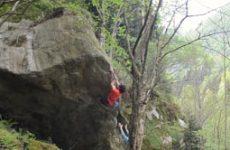 Bouldering Desate Italien