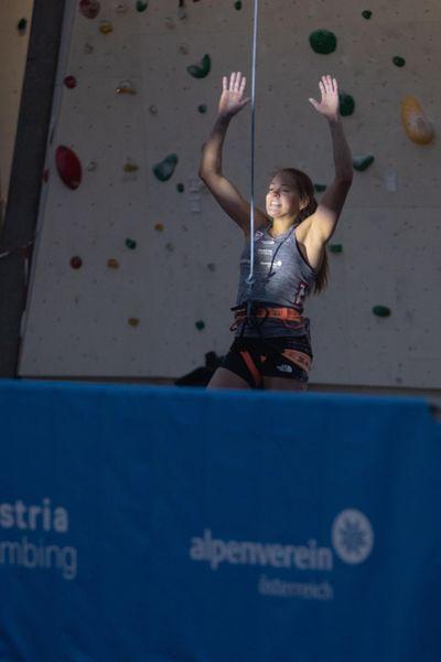Jessica Pilz Klettern Meisterschaft