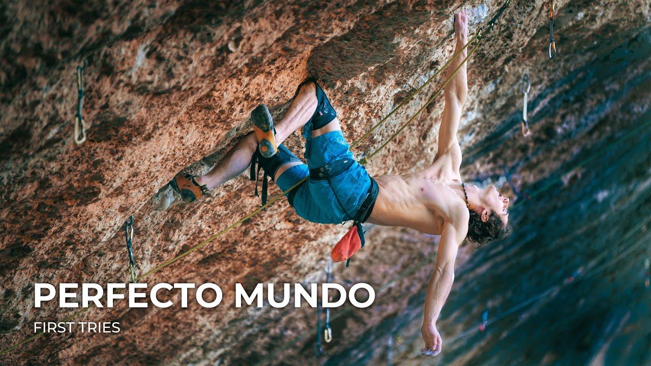 Perfecto Mundo (9b+) Adam Ondra Video