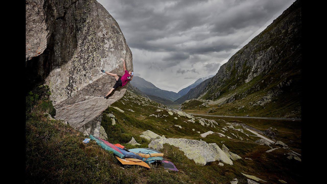 Gotthard Bouldering Video kletterszene