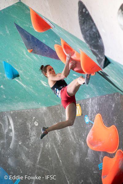 IFSCwc Moscow Boulder IFSC/Eddie Fowke