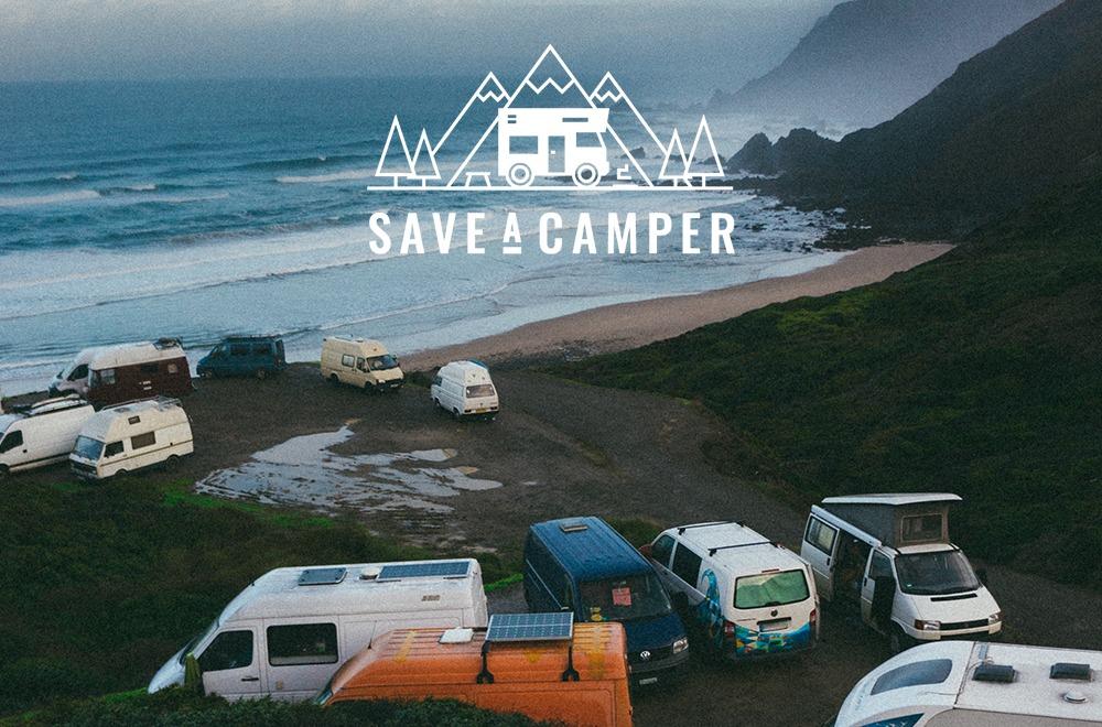 Save a Camper Kletterszene