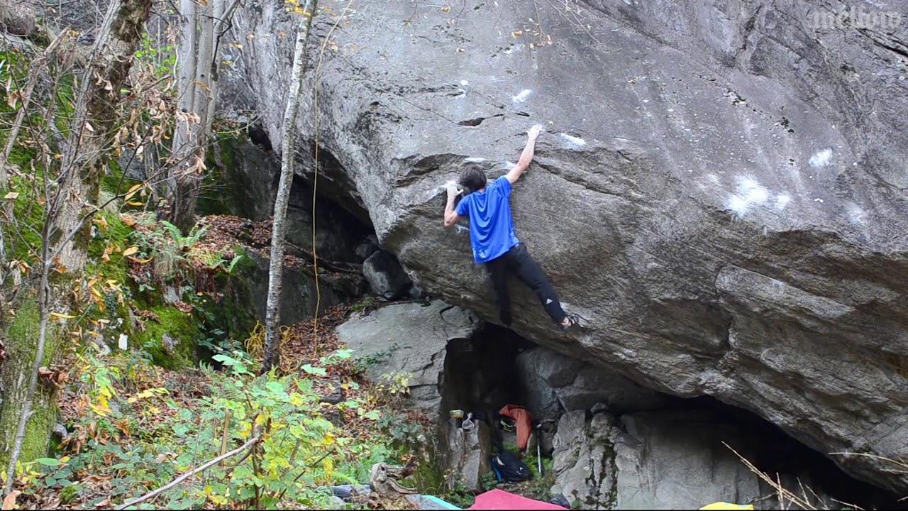 Nicky Ceria Ephyra (8C+) kletterszene